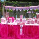 Tutu Table Skirts