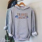 Travel Agent Hoodie, Travel Agency Sweatshirt, Gift For Travel Agent, Travel Agent Gift, Travel Agent Apparel, World Traveler,Travel Planner