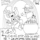 60+ St. Patrick's Day Activities and Coloring Pages - Sunshine and Munchkins