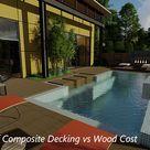 Comparison of Composite Decking vs Wood Cost