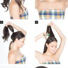 Hair How-To: A New Twist on Half-Up Hair