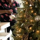 My Home Office Feminine Lady Christmas Tree!