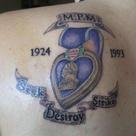 Purple Heart Tattoos