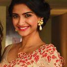 Sonam Kapoor Cute in Saree