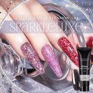 Sparkleluxe™ Glitter Nail Extension Gel