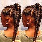 Cornrows Natural Hair