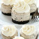 Mmmm, Mini Oreo Cheesecakes are a delicious delight to any Oreo lover