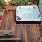 Top 80 Best Hot Tub Deck Ideas - Relaxing Backyard Designs