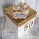 Explosionsbox zum Geburtstag, Jugendweihe und goldene Hochzeit