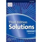 Solutions Advanced Student's Book 3rd Edition pdf ebook audio cd