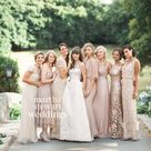 Champagne Colored Bridesmaid Dresses