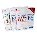 Carol Vorderman 3 Books Collection Set Help Your Kids with Maths, English, Times