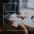 """Brittney on Instagram """"HOMEMAKING GUIDE PART 1 🧺   Every wise woman buildeth her house but the foolish plucketh it down with her hands. Proverbs 141  In today's…"""""""