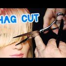 SHAG HAIRCUT TUTORIAL - Easy step by step