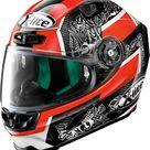 X-Lite X-803 Ultra Carbon Replica D. Petrucci integral helmet - Black/Red/White - M