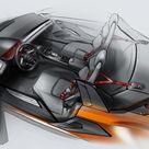 2013 Audi Nanuk quattro Concept    Design Sketch
