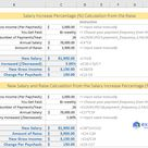 How to calculate salary increase percentage in Excel [Free Template]