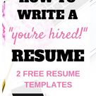 How to Write a Winning Resume: Take Your Resume from