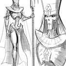 Female Necron by Lutherniel on DeviantArt