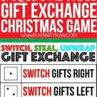 Switch Steal Unwrap Luck of the Dice Gift Exchange Game