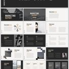 Marketing Report free PowerPoint - Download Free
