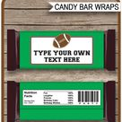 Printable Party Hershey Candy Bar Wrappers