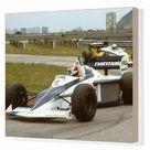 Box Canvas Print. 1983 Brazilian Grand Prix