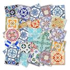 Rabat Pattern Tiles Sticker Moroccan Tile Stickers Eclectic   Etsy