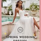 Spring Wedding Dresses