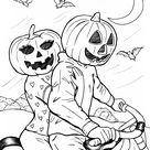 Saturday Printable: Halloween Coloring Pages - Rookie