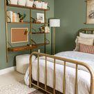 Modern Vintage Boys Bedroom – One Room Challenge – Week 8 - Hamilton Park Home
