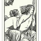 30cm Photo. The Queen of Paphos, Erycine, in heart did