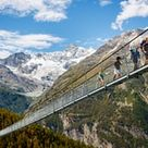 World's longest pedestrian suspension bridge opens in the Swiss Alps | Switzerland holidays