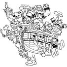 Bowser Jr Mask Coloring Page - Coloring Pages For All Ages - Coloring Home Pages