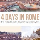 4 days in Rome: a fabulous itinerary for first time visitors (what to see, where to eat, travel tips) - Mama Loves Rome