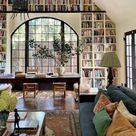 living room rustic