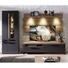 Innostyle Loft Two Wohnzimmer-Set mit Beleuchtung 3-tlg.