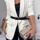 15+ BLAZER DRESS OUTFIT IDEAS. HOW TO CREATE A TUXEDO DRESS OUTFIT WITH YOUR FAVORITE BLAZER