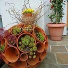 Gartendeko selber machen: DIY Gartenkugeln