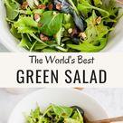 Simple Green Salad   My Favorite Recipe