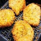 Air Fryer Garlic Parmesan Pork Chops - Cooks Well With Others
