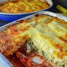 Einfaches Cannelloni Rezept mit Spinat und Ricotta