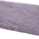 Amazon Basics Non-Slip Microfiber Shag Bathroom Bath Rug Mat - Lavender
