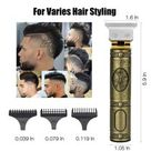 Professional Hair Clippers for Men Electric Haircut Kit Hair Trimmer for Men with Low Noise Adjustable Cordless & Rechargeable Electric Shaver Haircut Clipper with Guide Combs - Walmart.com