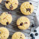 Lemon Blueberry Blender Muffins - Eat Yourself Skinny