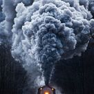 There's something grandiose about the sight of a steam locomotive rumbling down the tracks. - Creativity post