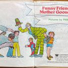 Vintage 1978 Funny Friends in Mother Goose Land, Whitman Tell a Tale, Mother Goose, Storybook, Rhyming Book, Junk Journal, Picture Book