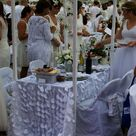 Table De Ferme Ceruse Blanc