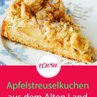 Apfelstreuselkuchen aus dem Alten Land Rezept