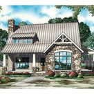 Country French House Plan Front of Home - Balcarra English Cottage Home 055D-0862   House Plans and More